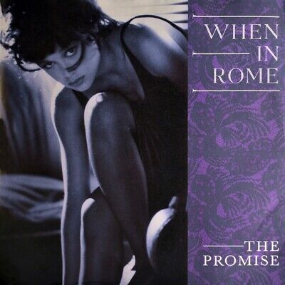 £14.29 • Buy 7  WHEN IN ROME The Promise / The Promise (Dub) 10 RECORDS New Wave Orig. D 1988