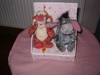 £4.50 • Buy Disney Store Boxed Tigger And Eyeore Soft Toys