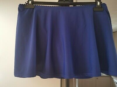 £6 • Buy Size 12 Ladies Blue Swim Skirt With Attached Briefs. New With Tags