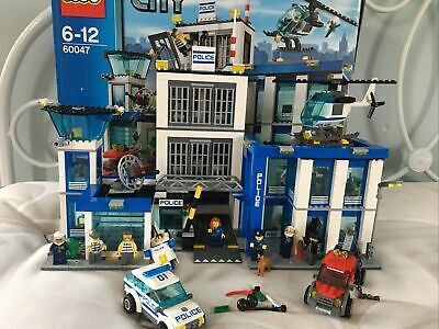 £50 • Buy LEGO City Police Station (60047) Complete With Box And Instructions