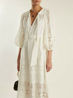$350 • Buy NWT 100% Authentic Zimmermann Kali Broderie Dress Size 1