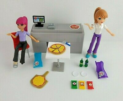 £20.68 • Buy MiWorld Italia Pizza Shop Mall Store By Jakks Pacific 2 Characters Included