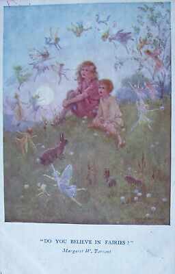 £0.85 • Buy     A Vintage Colour Postcard. By Margaret Tarrant. Do You Believe In Fairies.