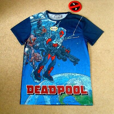 £11.79 • Buy Men's DEADPOOL Official Tee Size M BNWT T-Shirt L I See You Mr President Top