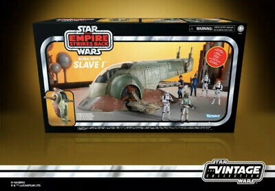 $ CDN221.55 • Buy Star Wars Vintage Collection 3.75 Figure Vehicle Slave 1 One Boba Fett In Stock