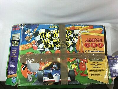 £85 • Buy Amiga 600 From Commodore The Wild The Weird & The Wicked Console And Games