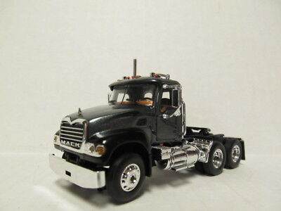 $42 • Buy 1st Gear 1/64 Scale Mack Granite  Day Cab  Charcoal & Black (same Scale As Dcp)