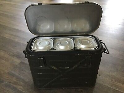 $35 • Buy Vintage US Military Insulated Food Storage Container AMF Cheyenne Wyoming 1982