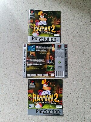 £3.99 • Buy Rayman 2 The Great Escape PlayStation 1 PS1 COVER/MANUAL ONLY READ DESCRIPTION