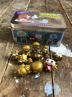 £10 • Buy Rare Gold MOSHI MONSTERS Bundle & Tin Collectible Toys Figurines Kids Children