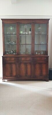 £49.99 • Buy Elegant Mahogany Display Cabinet, Suitable For A Lounge Or Dining Room