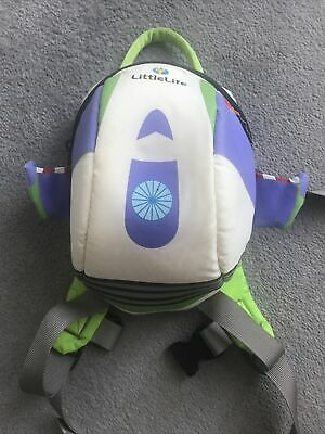 £4.80 • Buy Little Life Back Pack With Reins Buzz Light Year Disney Baby Toddler
