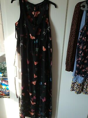 £4 • Buy Size 12 Dorothy Perkins Butterfly Maxi Dress