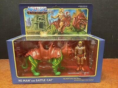 $39.95 • Buy Super 7 Masters Of The Universe He-Man And Battle Cat EM7140