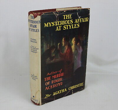 £48.55 • Buy Agatha Christie THE MYSTERIOUS AFFAIR AT STYLES 1920 W/DJ Mystery Detective