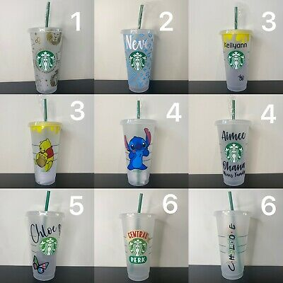 £10 • Buy Personalised Starbucks Cup With Straw