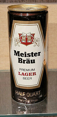 $5 • Buy 1975 16 Ounce Aluminum Meister Brau Lager Pull Tab Beer Can Miller  Milwaukee Wi