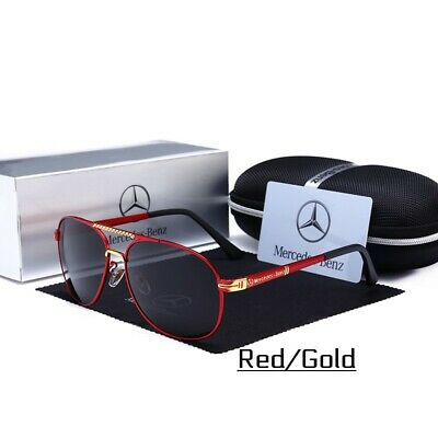 £39.61 • Buy Mercedes-Benz Style Polarized Sunglasses IN STOCK!