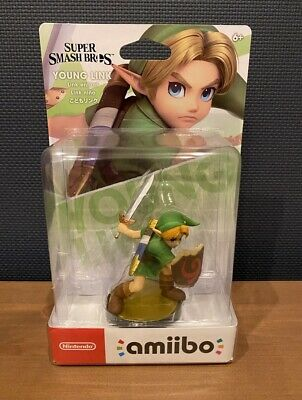 AU50.74 • Buy NEW Nintendo Amiibo YOUNG LINK Super Smash Bros. Ultimate From Japan
