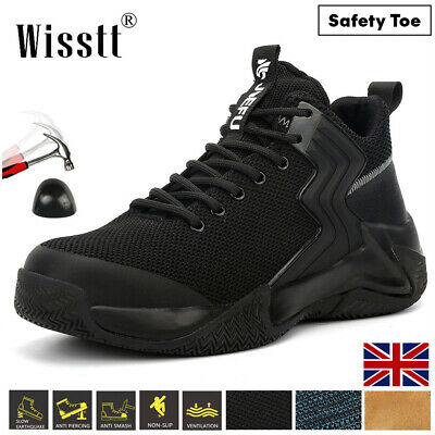 £29.99 • Buy Womens Work Safety Steel Toe Caps Boots Lightweight Construction Boot Sports UK