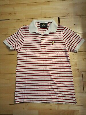 £3 • Buy Lyle And Scott Polo Shirt Small