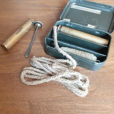£22 • Buy Gun Cleaning Kit With Additional Oil Container ? First World War Or Second World