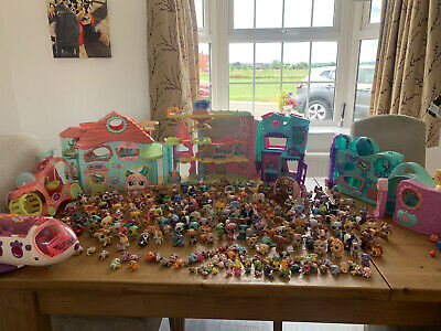 £82 • Buy LPS Littlest Pet Shop Huge Bundle Over 250 Pets With Houses And Accessories!!!