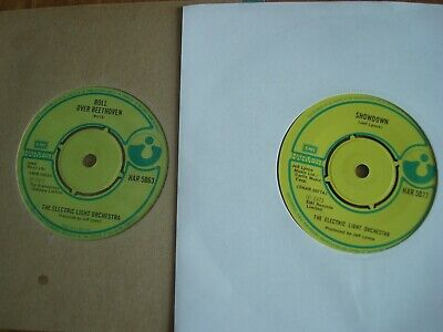 £3 • Buy 2 X Electric Light Orchestra : Roll Over Beethoven + Showdown Harvest Near Mint