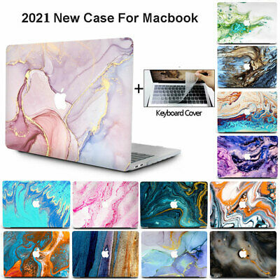 $20.99 • Buy 3in1 Abstract Marble Case+Keyboard Cover For Macbook Pro Air 11 12 13'' M1 15 16