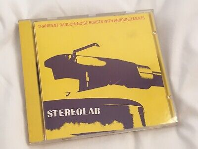 £6 • Buy Stereolab Transient Random-Noise Bursts With Announcements Duophonic CD