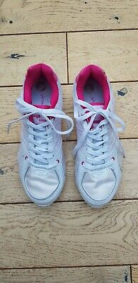 £10 • Buy Ladies Pink And White Pineapple Dance Trainers Size 6