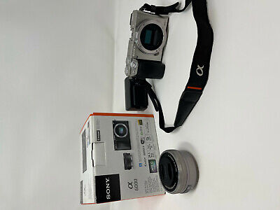 $ CDN684.52 • Buy Sony Alpha A6000 24.3 MP Interchangeable Lens Camera With 16-50mm Lens USED