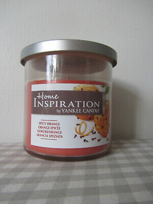£7.99 • Buy Yankee Candle Home Inspiration Small Tumbler Spicy Orange 198g/7oz NEW
