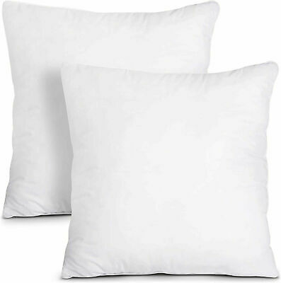 £6 • Buy Cushion Pads 20  X 20  Inches Hollowfiber Inserts Inner Scatter Sofa Pack Of 4