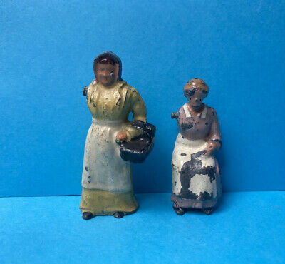 £5.99 • Buy Britains Johillco Lead Farmers Wife X2 Farm Figures Toy Soldiers Vintage Rare