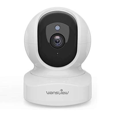 £33.35 • Buy Wansview WiFi IP Camera, 1080P Wireless Home Security Camera Q5 For Baby, Elder,