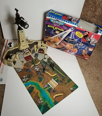 $50 • Buy Galoob Micro Machines Military Night Attack With Box 1995