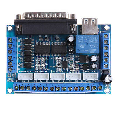 $10.04 • Buy Mach3 CNC Stepping Motor Driver Interface Adapter Breakout Board +USB Cable