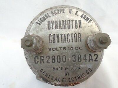 $20.90 • Buy WW2 Signals Corp  Dynamotor Contactor 14 V Military Radio Receiver Transmitter