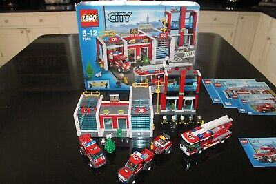 £40 • Buy Lego City Fire Station 7208 Comes With Extra Fire Car, Instructions And Box.