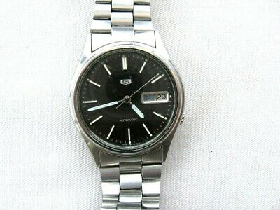 £10 • Buy Mans Seiko 5 Automatic 7009-3100.Complete,running, Needs Attention.