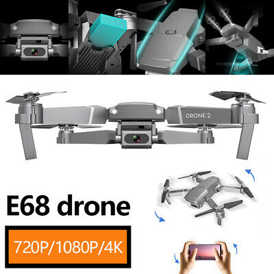 £24.69 • Buy Drone Mini Foldable Quadcopter With 4K Camera Wifi FPV Selfie RC Helicopter TB