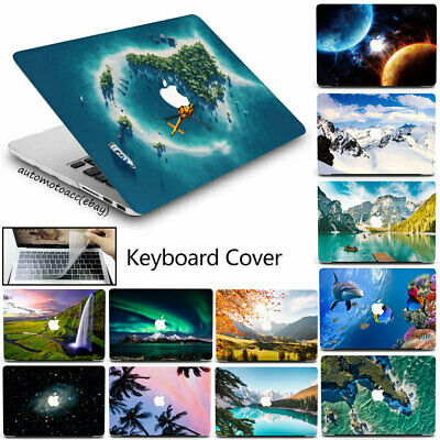 $20.99 • Buy 3in1 Natural Scenery Case For Macbook Pro Air 11 12 13'' M1 15 16+Keyboard Cover