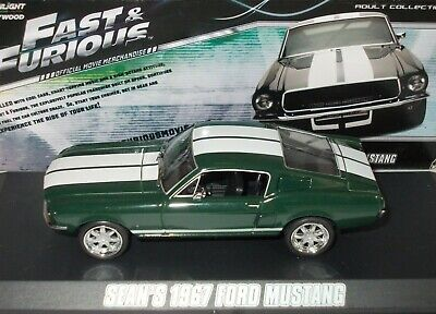 £14.99 • Buy Ford Mustang Fastback ~1967 ~fast & Furious ~greenlight 1/43 Scale # 86211*used*