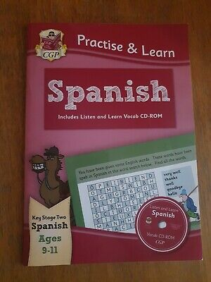 £2.10 • Buy Practise & Learn: Spanish For Ages 9-11 - With Vocab CD-ROM By CGP Books (Paper…