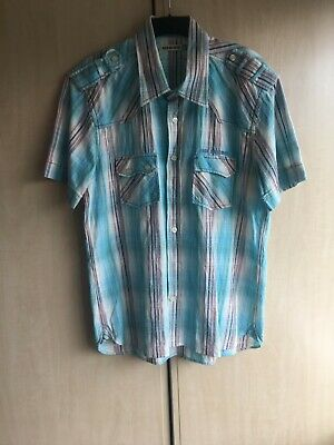 £3.95 • Buy Duck And Cover Mens Blue Shirt XL