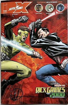 £6.95 • Buy Image Comics Skybound X #4 Cover A Signed By Charlie Adlard