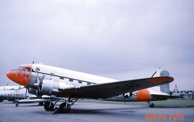 $2.43 • Buy Military Aircraft Slide - C-47d Usaf 44-76600 - 1962 - Please Read Carefully!!