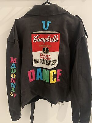 £300 • Buy Madonna 1987 Who's That Girl Tour Super Rare Promo Crew Jacket - U Can Dance