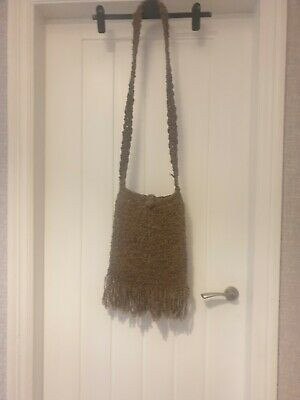 £5.99 • Buy Pachamama Light Brown Across The Shoulder Fringed Bag